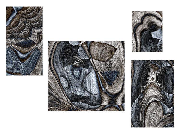 Digital, Polyptychon, Fraktalkunst, Digitale kunst