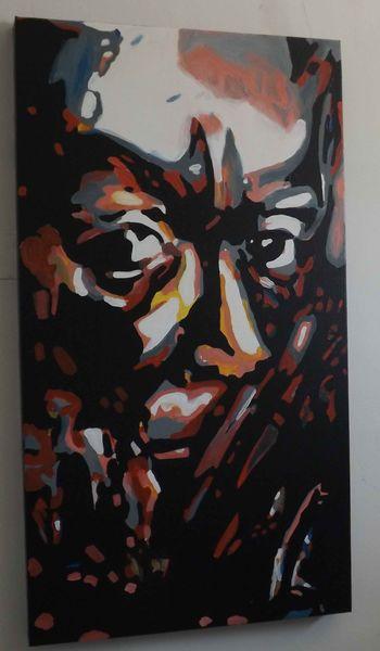 Portrait, Prominent, Künstlerische portraits, Abstrakt portrait, Portrait von prominenten, Porträt kunst