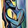 Gemälde, Dekorieren zimmer, Verkauf von kunst, Günstige kunst gemälde