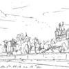 Elbe, Stadtansicht, Architektur, Wasser