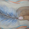 Acrylmalerei, Träumereien, Reiz, Besinnlichkeit