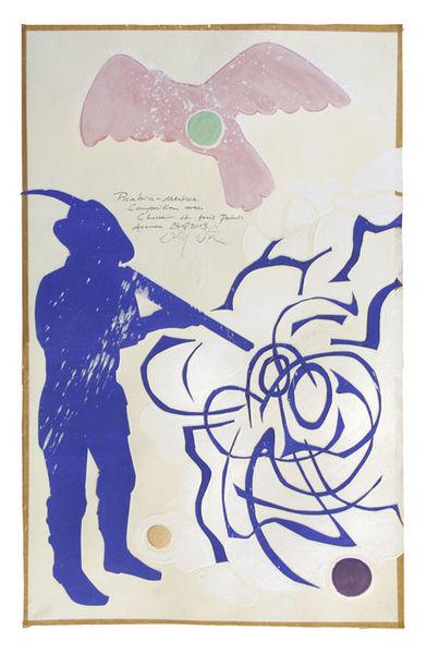 Collage, Picabia, Matisse, Mischtechnik, 2013