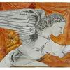 Leonardo da vinci, Verkündigung, Engel, Mischtechnik