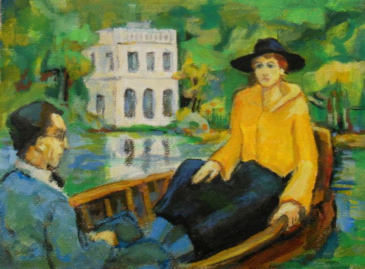 Schielen, Münter, Klee, Kandinsky, Putz, Manet
