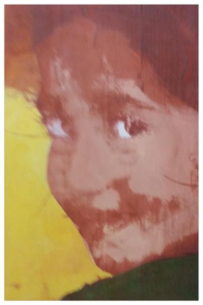 Nepal, Popart, Siebdruck, Portrait, Kids, Druckgrafik