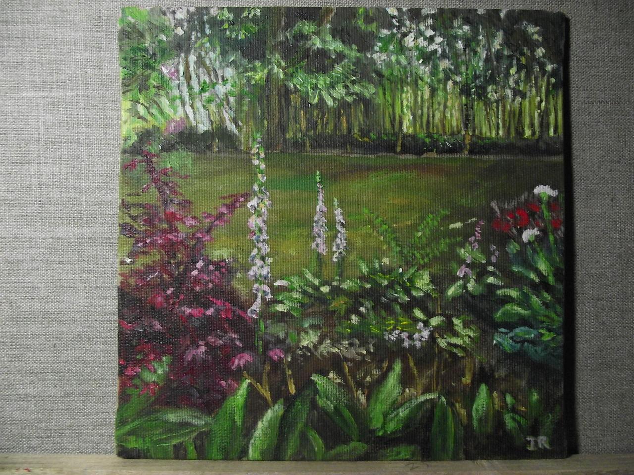 giverny i blumen licht schatten pflanzen von jutta reddington bei kunstnet. Black Bedroom Furniture Sets. Home Design Ideas
