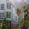 Ölmalerei, Nacht, Leuchten, Kasyanov