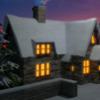 Schnee, Werihnachten, Winter, Digitale kunst