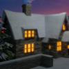 Schnee, Winter, Weihnachten, Digitale kunst