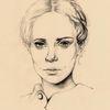 Dame, Gesicht, Frau, Portrait