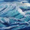 Himmel, Meer, Sturm, Malerei