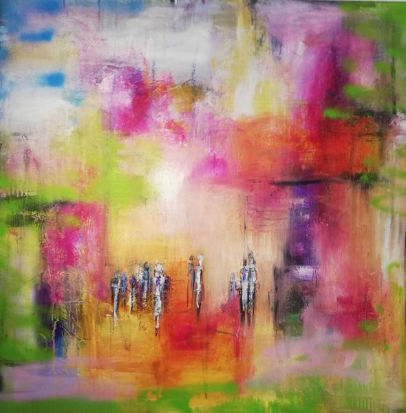 Informel, Komposition, Malerei