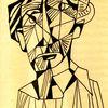 Zeichnungen, Alter, Mann