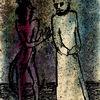 Malerei, Teufel, Heiliger