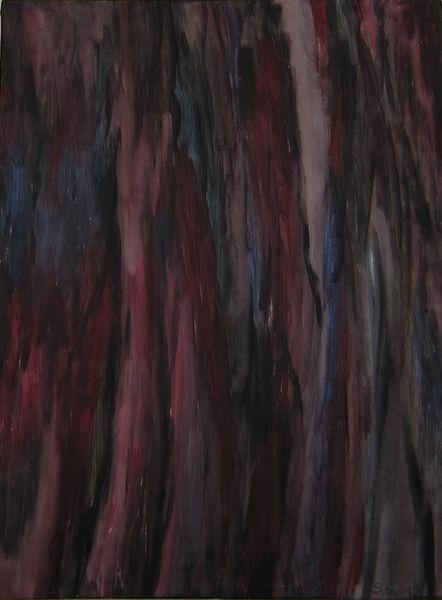 Rot schwarz, Blau, Weiß, Malerei
