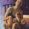 Realismus, Malerei, Kunstwerk, Figural