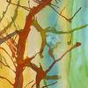 Aquarellmalerei, Aquarell, Baum,