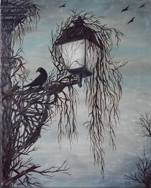 Malerei, Kurz, Leben
