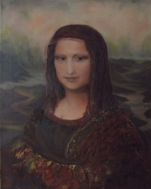 bild malerei portrait interpretation von natalia schirokov bei kunstnet. Black Bedroom Furniture Sets. Home Design Ideas