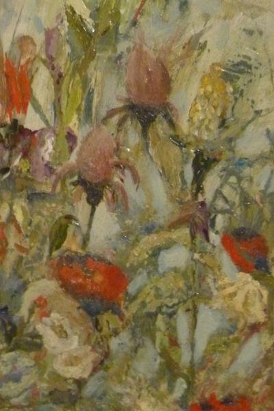 Blüte, Grün, Blumen, Malerei