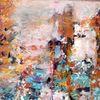 Bunt, Laufen, Abstrakt, Malerei