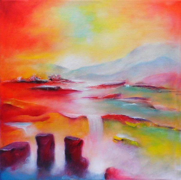 Gefühlschaos, Rot, Entspannung, Weiß, Fantasieland, Wasser
