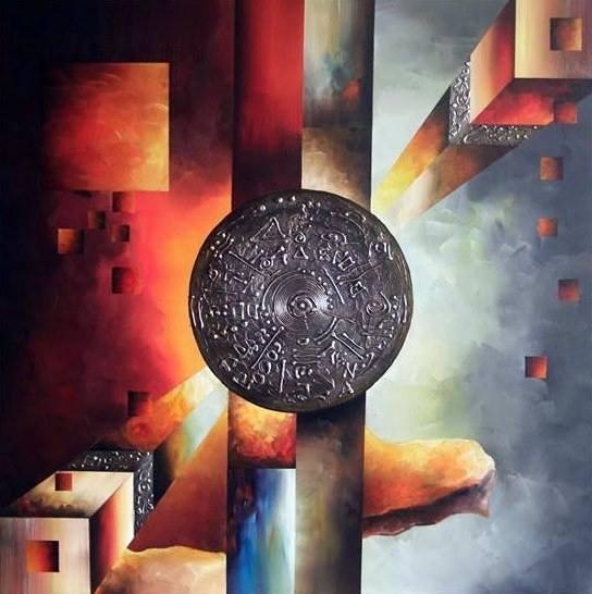 Malerei, Modern, Fantasie