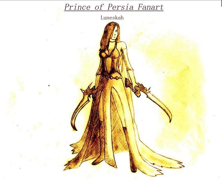 Herrscherin der zeit, Prince of persia, Fanart, Fantasie, Frau, Zeichnungen