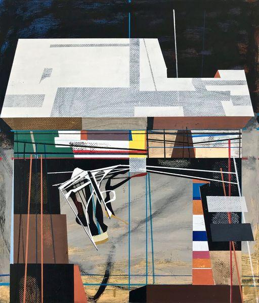Technologie, Futurismus, Abstrakt, Avantgarde, Architektur, Metaphysisch