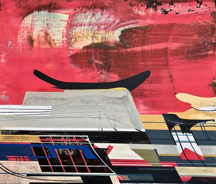 Technologie, Technik, Zeitgenössisch, Abstrakt maleri, Avantgarde, Modern