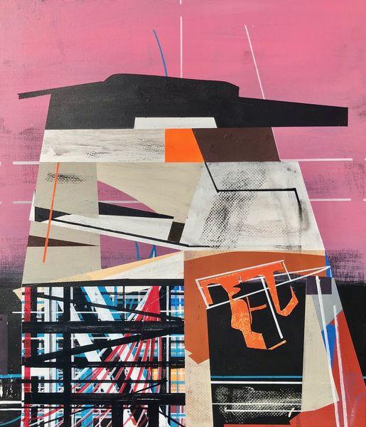 Metaphysisch, Acrylmalerei, Technologie, Rätsel, Abstrakt, Futurismus