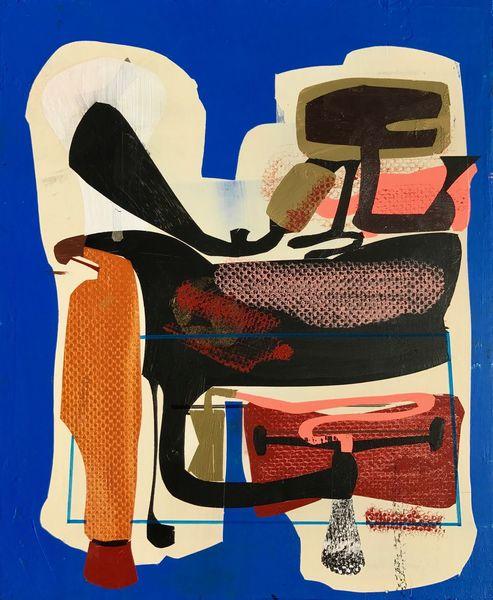 Zeitgenössisch, Modern, Abstrakt, Gemälde, Musik, Malerei