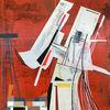 Acrylmalerei, Avantgarde, Luft, Futurismus