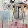 Modern, Acrylmalerei, Futurismus, Zeitgenössisch
