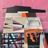 Zeitgenössisch, Futurismus, Acrylmalerei, Metaphysisch