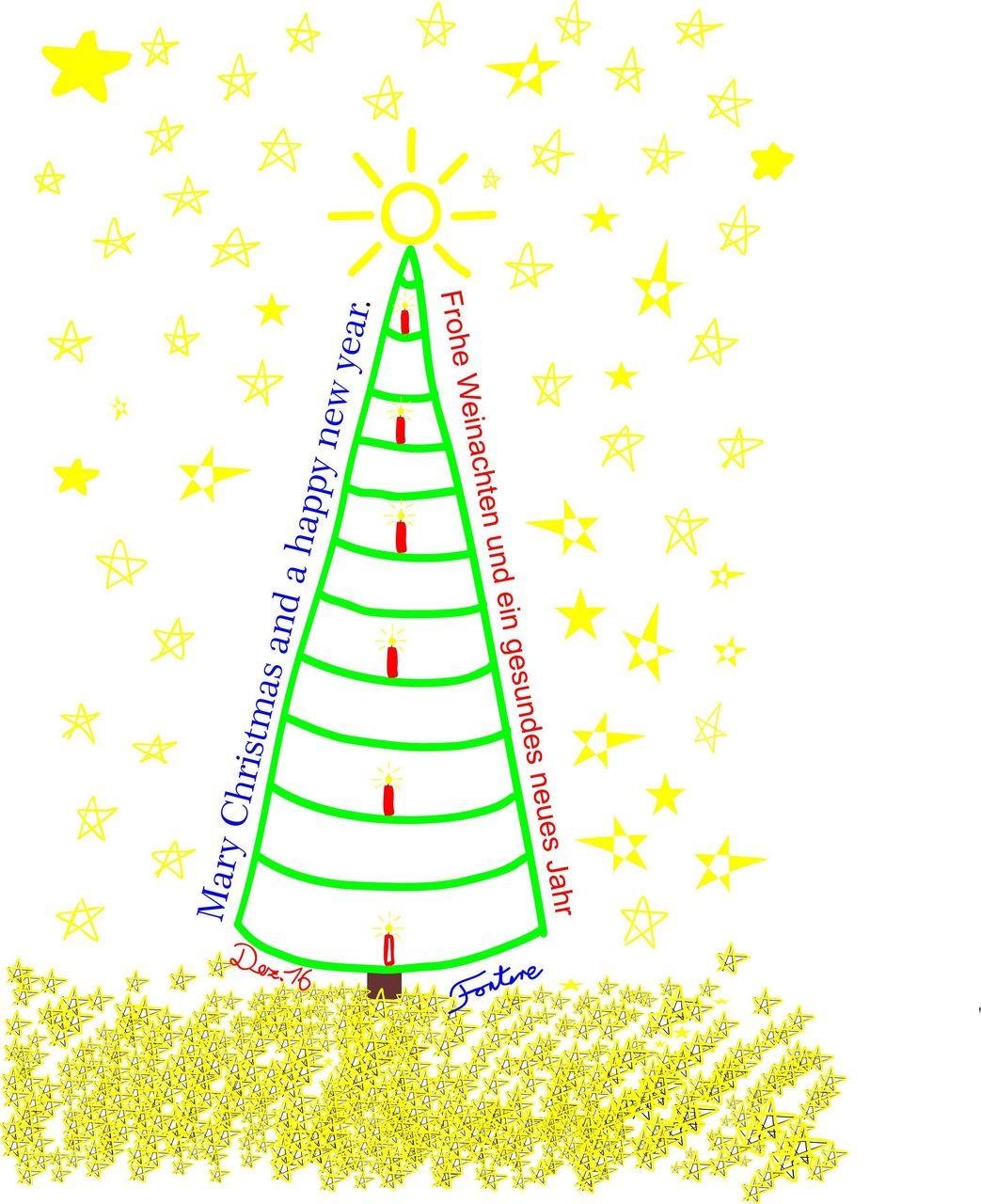 weihnachtsgr sse modern tannenbaum kerzen sterne und. Black Bedroom Furniture Sets. Home Design Ideas