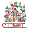Frohe weihnachten, Winter illustration, Schnee, Illustration