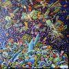 Ölmalerei, Fantasie, Chaos, Malerei