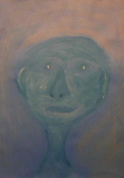 Männergesicht, Portrait, Menschen, Figur, Abstrakt, Kopf