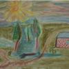 Pastellmalerei, Zeichnung, Himmel, Natur