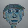 Portrait, Menschen, Abstrakt, Männergesicht