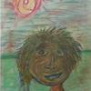 Sonne, Landschaft, Selbstportrait, Gesicht