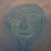 Gesicht, Acrylmalerei, Grün, Mann