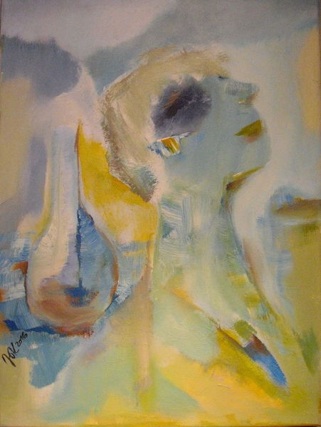Menschen, Sonne, Bewegung, Malerei, Duft