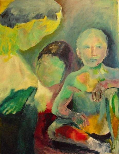 Abstrakt, 2014, Acrylmalerei, Malerei, Warten,