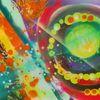 Lichpunkte, Sprühen, Farben, Malerei