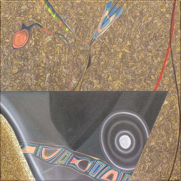 Gefäß, Malerei, Abstrakt