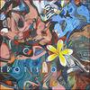 Malerei, Abstrakt, Plumeria