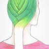Haare, Frisur, Lauch, Geflochten