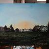 Sonne, Himmel, Malerei,